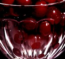 Glass Cherries by Paul Mayall