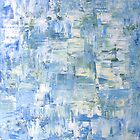 abstract Blue by Sanne Thijs