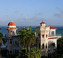 Valle's palace, bay of Jagua, Cuba by buttonpresser