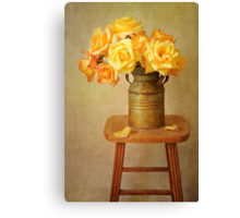 Golden Moments Canvas Print