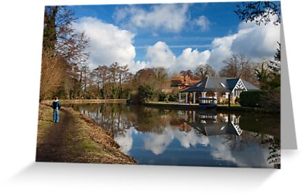 Wey Navigation, Weybridge, Surrey by Rachael Talibart