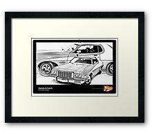 Starsky & Hutch - Ford Gran Torino Framed Print