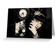 The Porcelain Doll - Second Life Syndrome Greeting Card