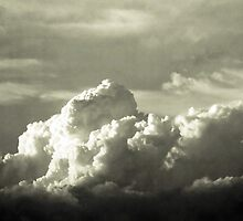 Cloud 3 B&W by Paul Todd