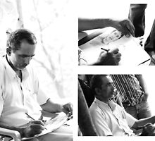 5 mins. Portrait by Saikat Babin Biswas