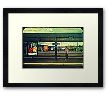 Well - are you???? Framed Print