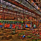 The Tram Shed by Malcolm Katon