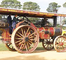 Traction Engine 1910 by Arthur Koole