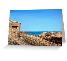 Fort Raz - Alderney Greeting Card
