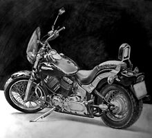 Yamaha Drag Star by Akchilug