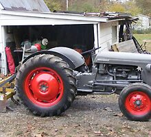 1952 Ford tractor  by joedog