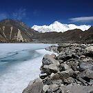 Gokyo Lake and Cho Oyu - Nepal Everest Trail by Derek McMorrine