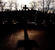 shadowed cross by adamscs