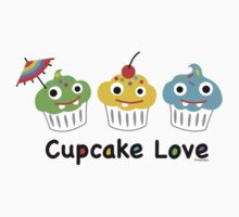 Cupcake Love II by Andi Bird