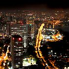 Paul's Panoramics - Singapore at Night by Paul Liddement