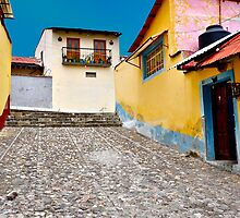 Colorful Alley, Mexico by Nick Conde-Dudding