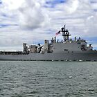 USS Germantown LSD 42 by Bob Hortman