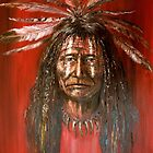Medicine man  (Native American) by Arturas Slapsys