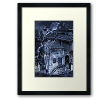 night thief Framed Print