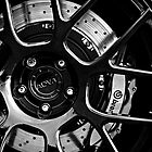ADV. 1 Black White Rim Wheel Dark by LongbowX