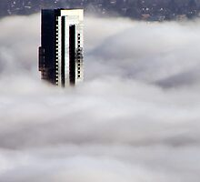 Shangri-La In The Fog by ClaytonPerry