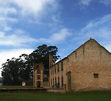 Port Arthur Penitentiary by michellerena