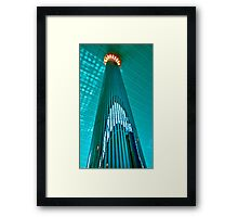 Up Dubai International Airport Framed Print