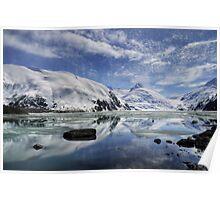 Portage Lake, Alaska Poster