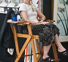 Art Show Hostess by phil decocco