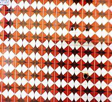Mosaic Fence- Ziad Zitoun- 40x30cm - 2010 by Ziad Helmi Zitoun