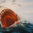 Great White Shark by Elle J Wilson