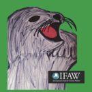 Save the Cute Seals - IFAW logo by Sarah Bentvelzen