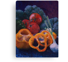 Veggie Still Life Canvas Print