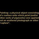 "What is, and is not, ""a Painting""? by Carson Collins"