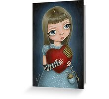 I will mend your heart... Greeting Card