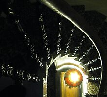 Stair Swirl with Lamp by gothgirl