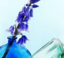 Bluebell Abstract by Susie Peek
