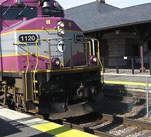 1120 MBTA Commuter Rail by Eric Sanford