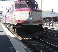 1062 MBTA Commuter Rail by Eric Sanford