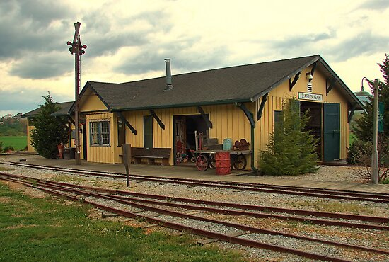 Tallulah Falls Railroad Museum by Janie Oliver