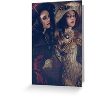Queen Pirates Greeting Card