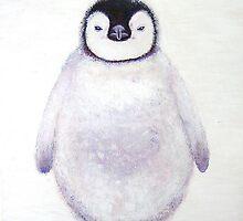 penguin chick, antarctica by veriest