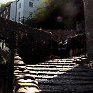 Lazy Lunch - Clovelly by Simon Groves