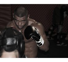 UFC fighter Photographic Print