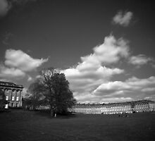Royal Crescent, Bath by Dave Sayer