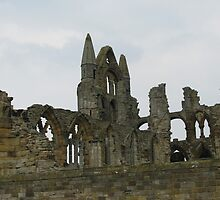 Whitby Abbey by queenbeecc