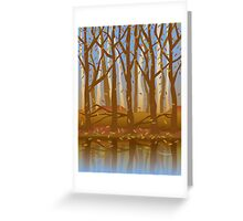 Four Seasons Forest_Fall Greeting Card