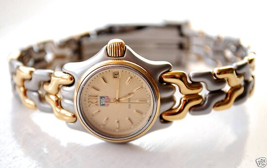 TAG Heuer SEL ladies gold/stainless steel watch by watches