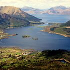 From The Pap of Glencoe, looking west. by mykanmo