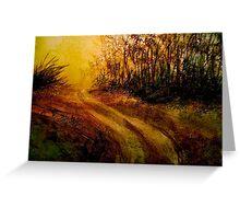 Landscape Hardy..The Walk Greeting Card